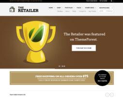 Tema site para Loja virtual de roupas