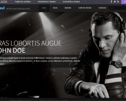 Tema Joomla para DJ's, Músicos e Bandas