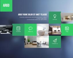 Tema site HTML para Loja de Móveis, Estofados, Planejados, Única Página