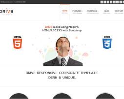 Tema site Drupal para empresas moderno