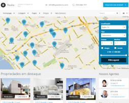 Tema site HTML para imobiliário, rental