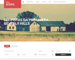 Tema site html5 para site de imobiliaria