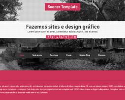 Tema site HTML para Empresas Portfólio