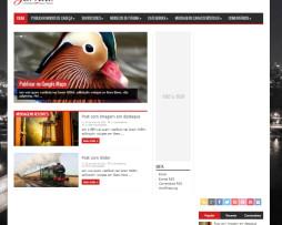 Tema site WordPress para Revista, Magazine, Notícias