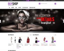 Tema Loja Virtual Magento ideal para lojas de roupa