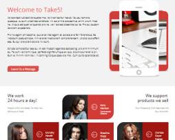 Tema Site HTML para Negócios