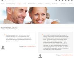 Tema site WordPress para empresas multiuso c\ Loja