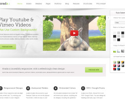 Tema site WordPress Interativo para Empresas