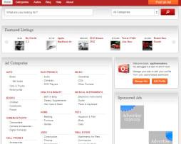 Tema site WordPress para Classificados, produtos