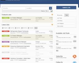 Tema site WordPress Ideal para agências de Empregos