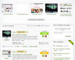 Tema site WordPress Ideal para Cupons de Desconto