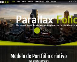 Tema site HTML Portfólio para Empresas