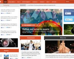 Tema Joomla ideal para Magazine, Notícias