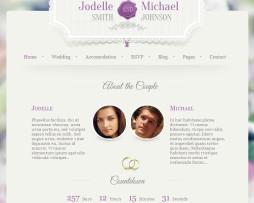 Tema site Html para site de Casamentos