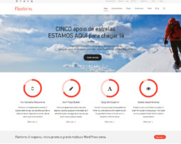 Tema site WordPress Clean para Empresas C/Loja Virtual