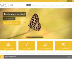 Tema site Html Moderno Multiuso para Empresas