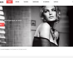 Tema site Joomla para empresas clean Multiuso