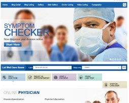 TEMA SITE HTML PARA MÉDICOS E HOSPITAIS