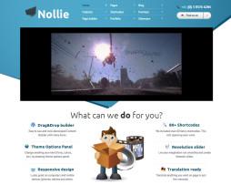 Tema site wordpress para designers, portfólio, agências