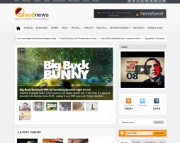 Tema site WordPress para magazine esportivo