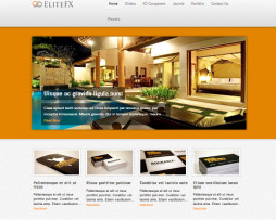 Tema site Joomla para hoteis, moteis, resorts.