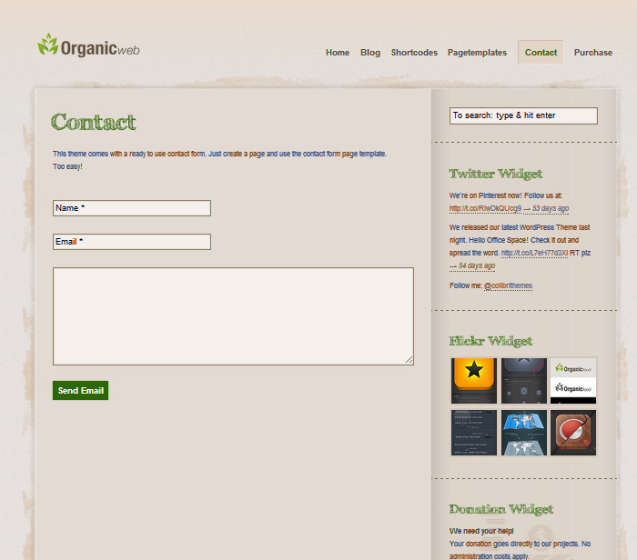Tema site wordpress para fazendas, plantações, orgânico, verde   Rei ...