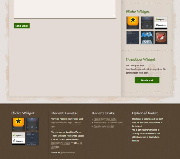 Moderno Tema Verde Wordpress Colección de Imágenes - Colección De ...