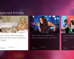Tema site Joomla para notícias e travel ultra moderno