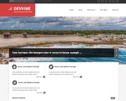 Tema site html para empresas travel, agências de viagens