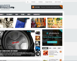 Tema site wordpress para noticias & magazine