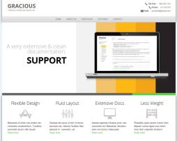 Tema site html para empresas Unica página