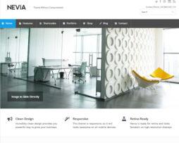 Tema site WordPress para empresas e negócios clean c\ loja virtual