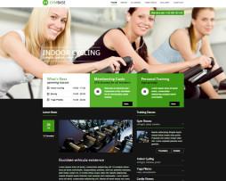 Tema site wordpress para academias, fitness, personal e ginástica