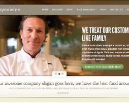 Tema site wordpress para bares, restaurantes, botecos