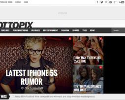 Tema site wordpress para notícias e magazine