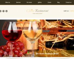 Tema site html para restaurantes