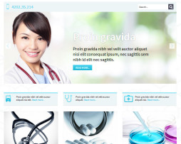 Tema site Joomla para clínicas, médicos, dentistas, podologos