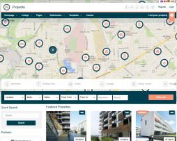 Tema site html para imobiliário