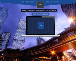 Tema site HTML indicado para arquitetos, designers, construtoras, engenheiros