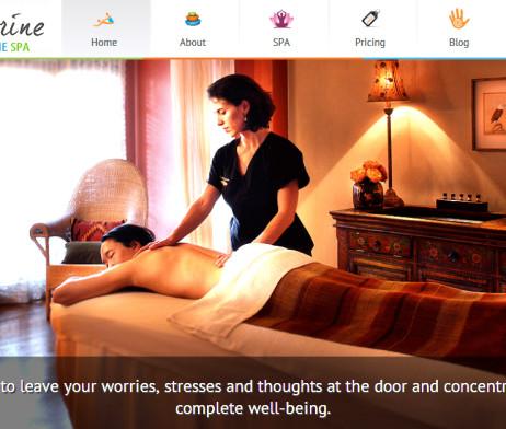 Tema site HTML para clínicas e SPA moderno