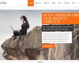 Tema site HTML para designers e agências portfólio