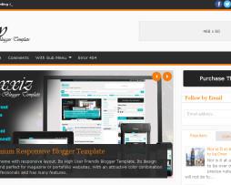 Tema Blog para blogspot notícias e magazine avançado