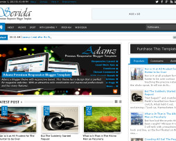 Tema Blog para super blogger do blogspot portal