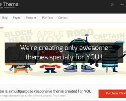 Tema site HTML multiuso