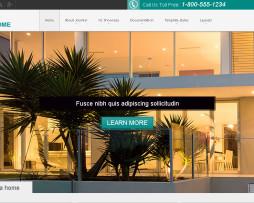 Tema site Joomla para imobiliárias e corretores