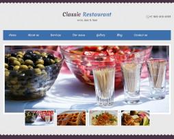 Tema site HTML para restaurantes, padarias, sushis