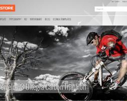 Tema Loja virtual virtuemart para bikes, bicicletaria,venda de bikes