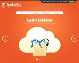ema site Joomla para site de aplicativos, tecnologia