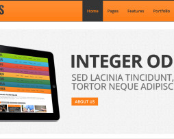 Tema site HTML para corporativo, empresas super slider