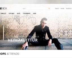 Tema Loja virtual virtuemart para moda, fashion, roupas